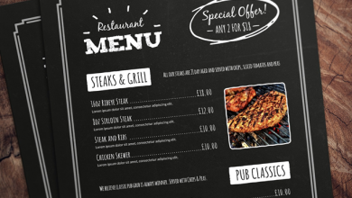 Photo of Different Downloadable Templates Needed By Restaurants, Bars & Cafes